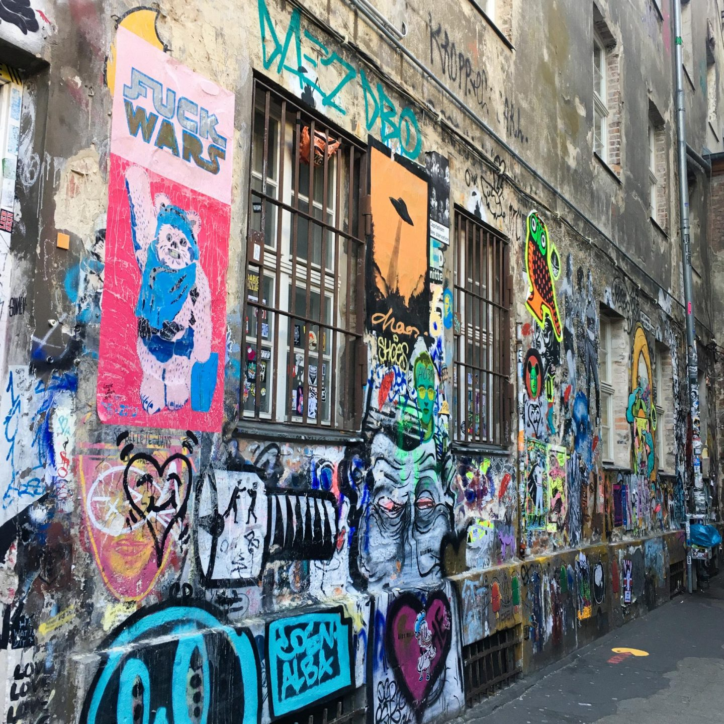Dead Chicken Alley - Berlin Travel Diary - Rachel Nicole UK Blogger