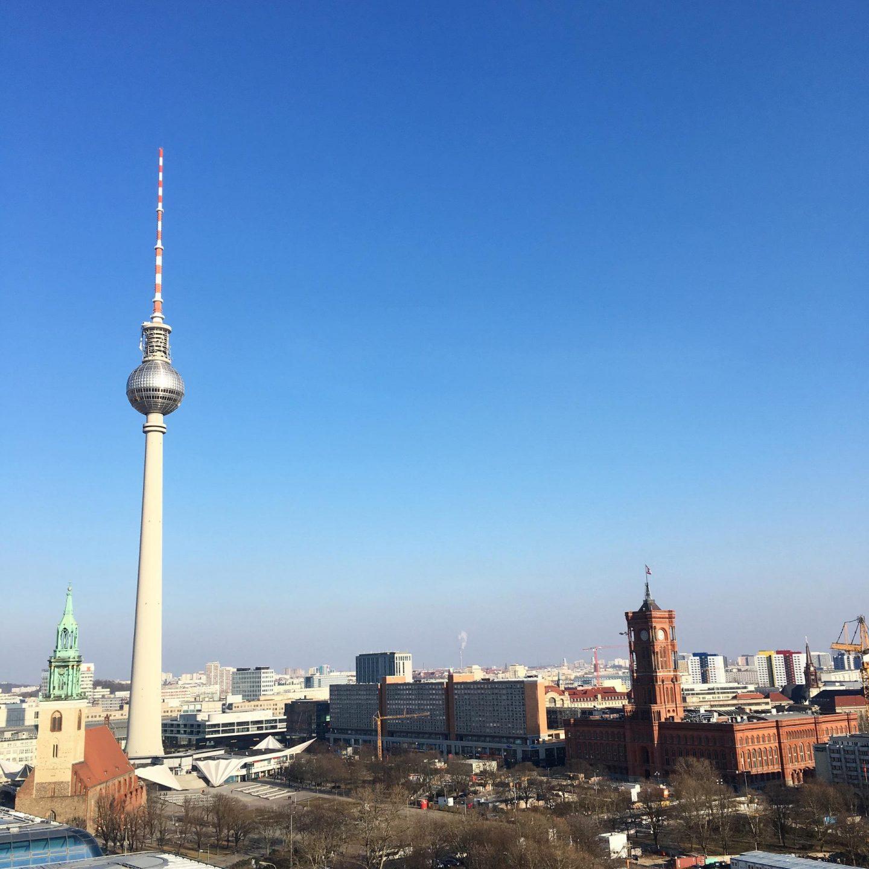 Views of the TV Tower - Berlin Travel Diary - Rachel Nicole UK Blogger