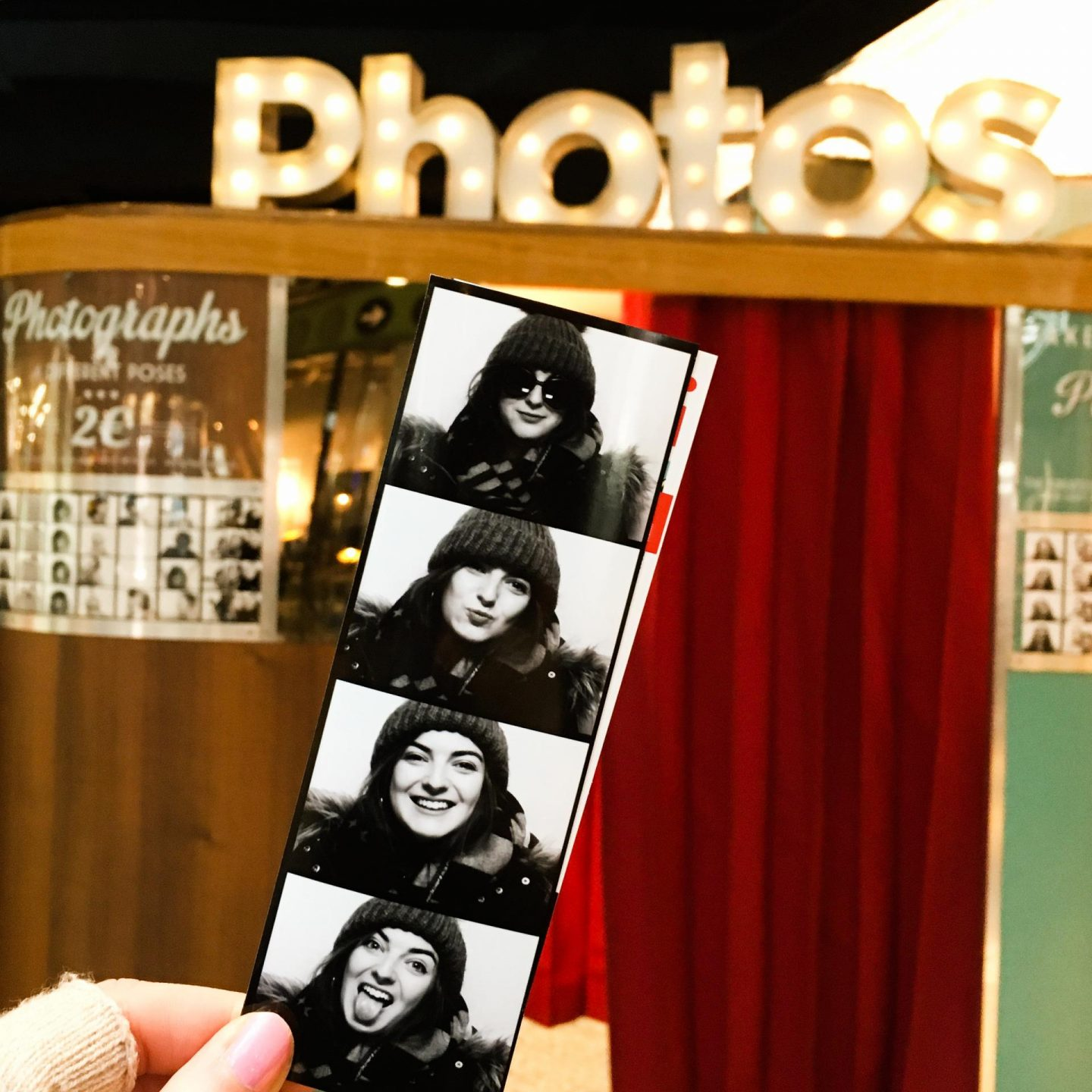 Photoautomat - Berlin Travel Diary - Rachel Nicole UK Blogger