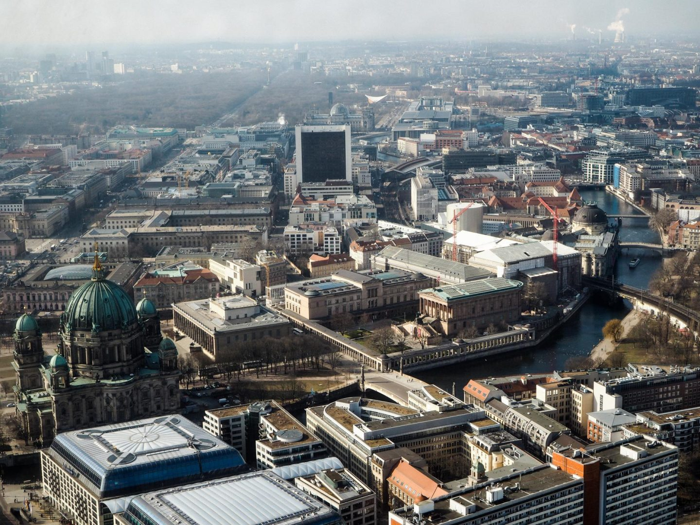 View from the TV Tower - Berlin Travel Diary - Rachel Nicole UK Blogger