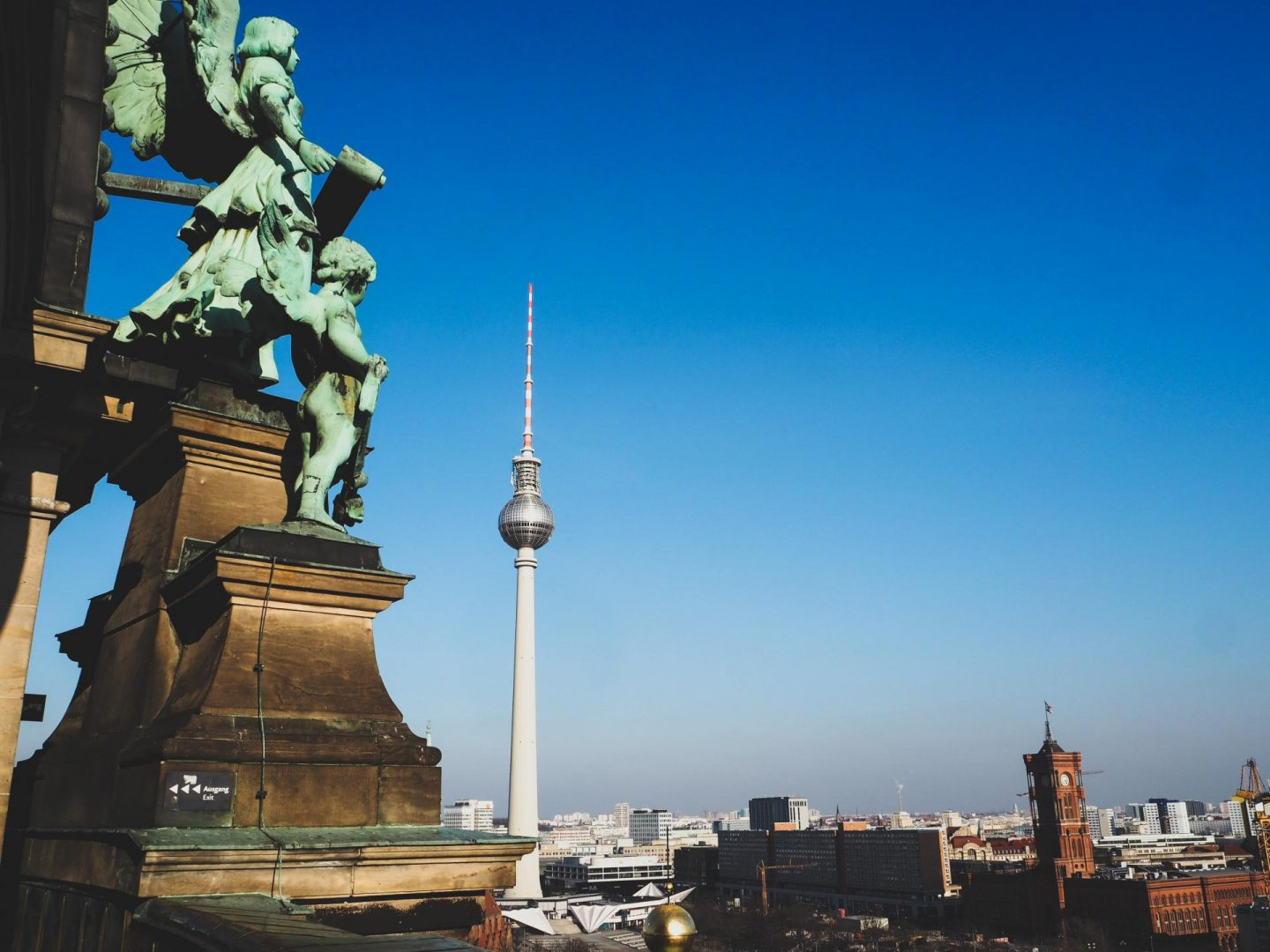 Views from Berlin Cathedral Roof - Berlin Travel Diary - Rachel Nicole UK Blogger