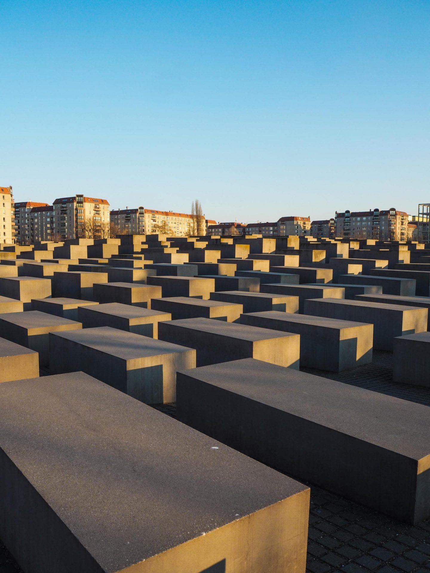 Holocaust Memorial - Berlin Travel Diary - Rachel Nicole UK Blogger