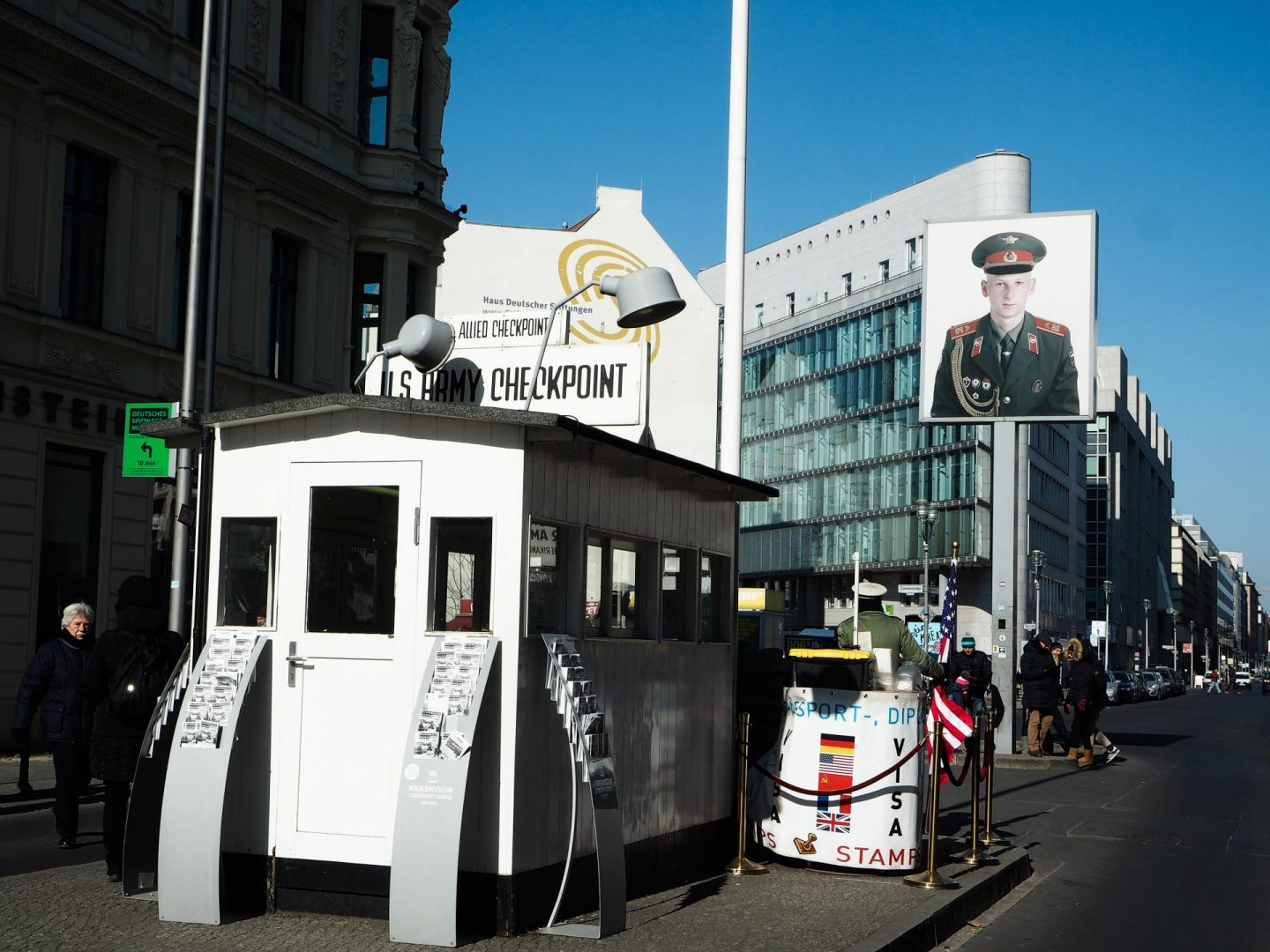 Checkpoint Charlie - Berlin Travel Diary - Rachel Nicole UK Blogger
