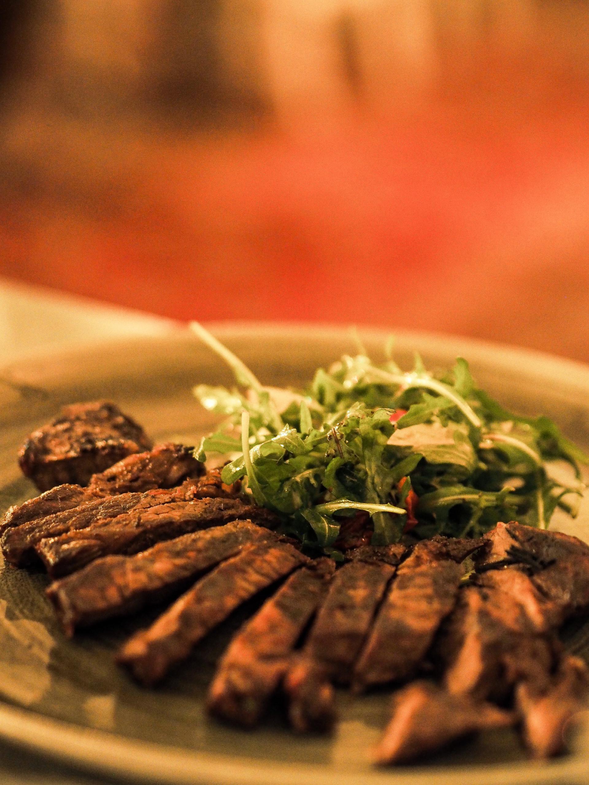 Garlic and Rosemary Rump Steak at The Botanist, York Spring Menu Review - Rachel Nicole UK Blogger