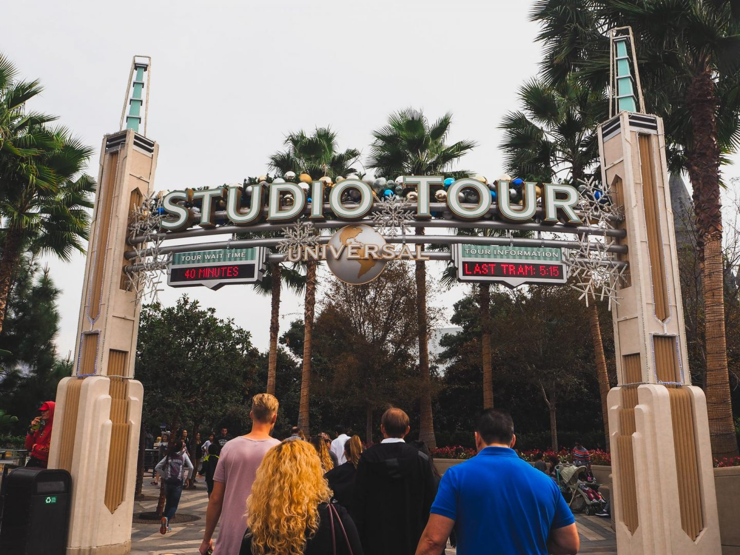 The Studio Tram Tour at Universal Studios Hollywood at night with Attractiontix - Rachel Nicole UK Blogger