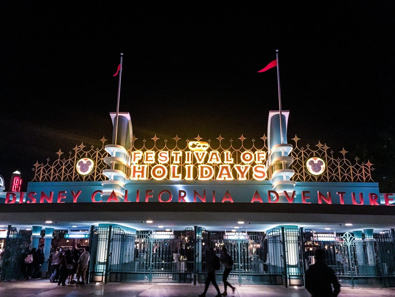Festival of Holidays, California Adventure, Disneyland - Rachel Nicole UK Blogger