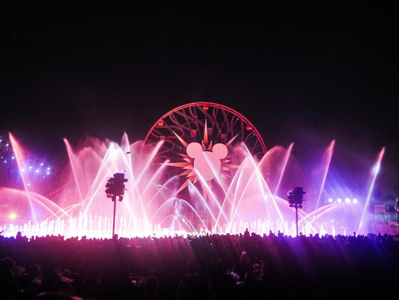 World of Colour, Paradise Pier - California Adventure, Disneyland - Rachel Nicole UK Blogger