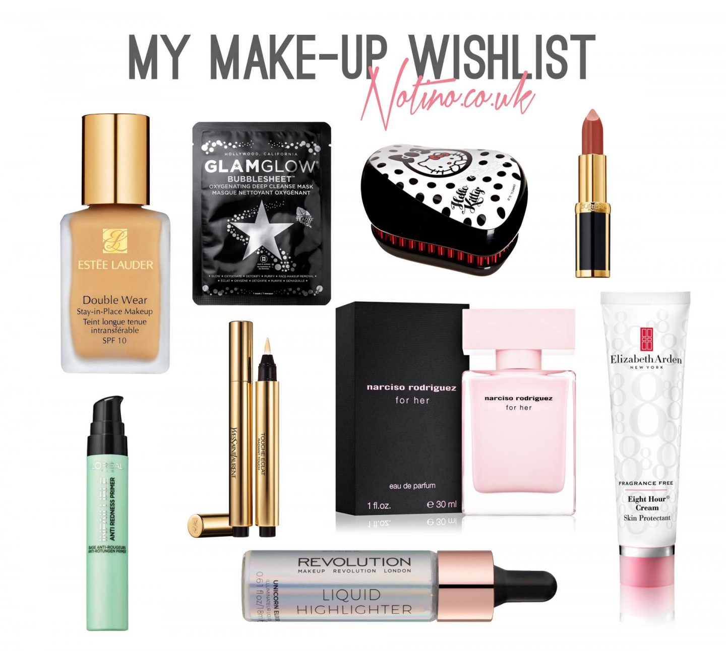 Spring Make-Up Wishlist with Notino.co.uk - Rachel Nicole UK Blogger