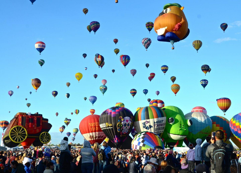 8 Unique Festivals To Add To Your Bucket list, Hot Air Balloon Festival - Rachel Nicole UK Travel Blogger