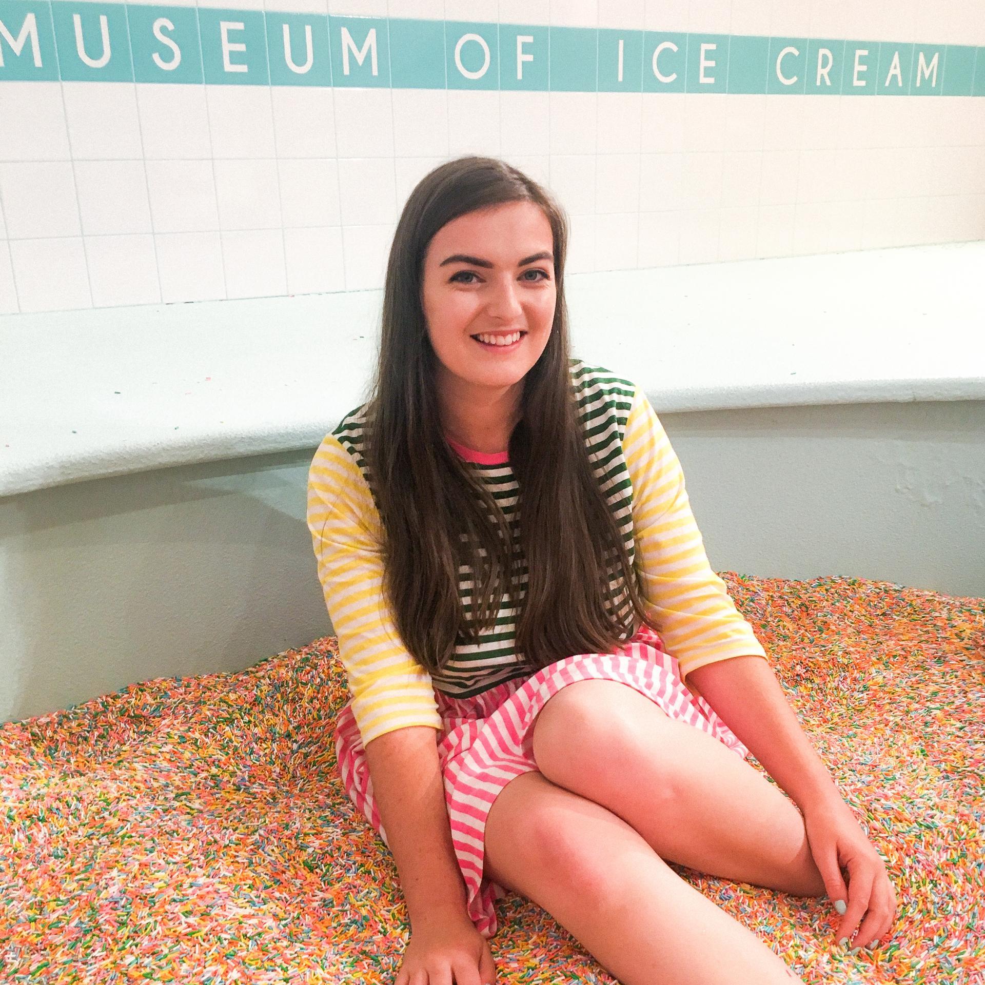 Museum of Ice Cream, San Francisco - Rachel Nicole UK Travel Blogger