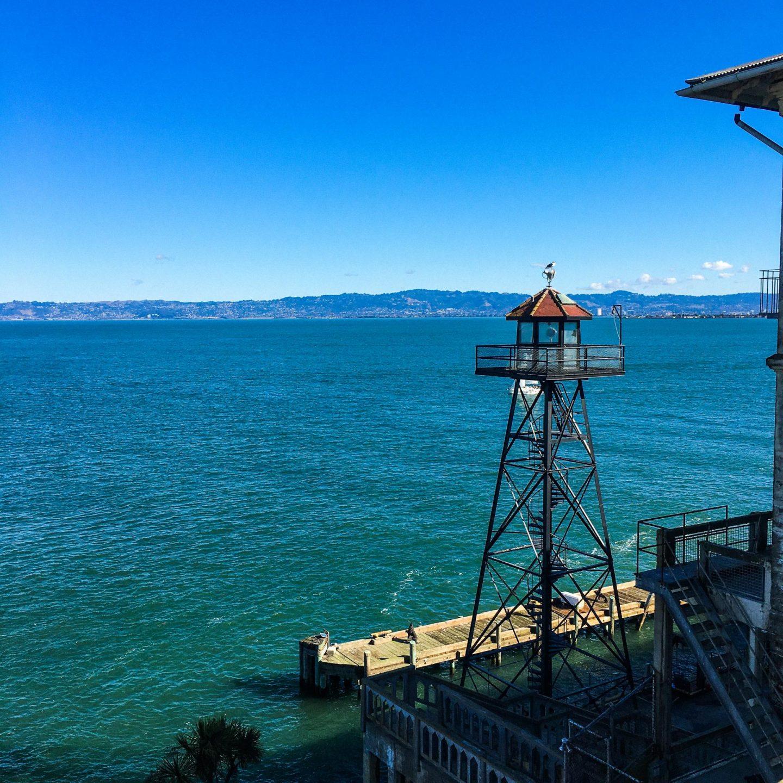 Alcatraz Island, San Francisco - Rachel Nicole UK Travel Blogger