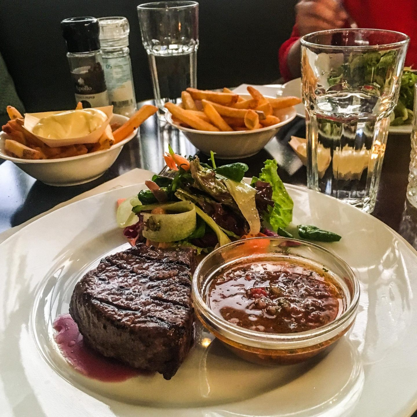My Amsterdam Food Diary, Steak at Het Badhuis - Rachel Nicole UK Blogger