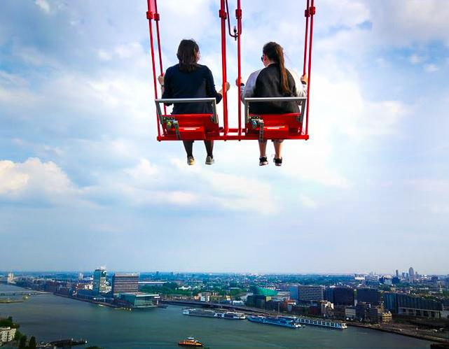 The ULTIMATE Guide to Visiting Amsterdam, A'Dam Lookout - Rachel Nicole UK Blogger