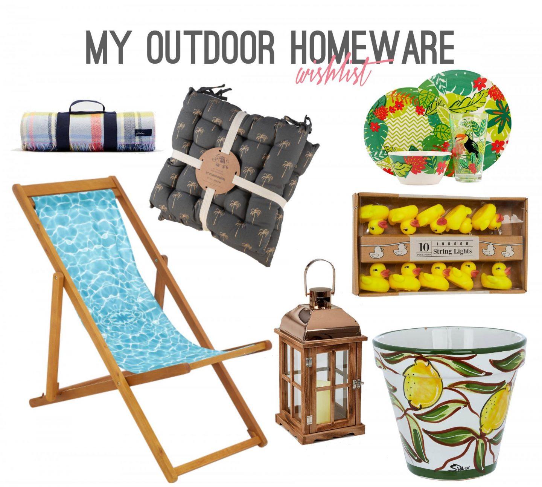 Outdoor Wishlist - Rachel Nicole UK Blogger
