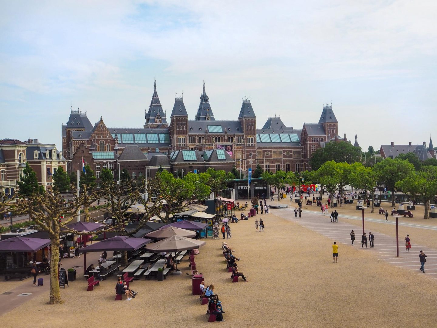 The ULTIMATE Guide to Visiting Amsterdam, Museumplein - Rachel Nicole UK Blogger