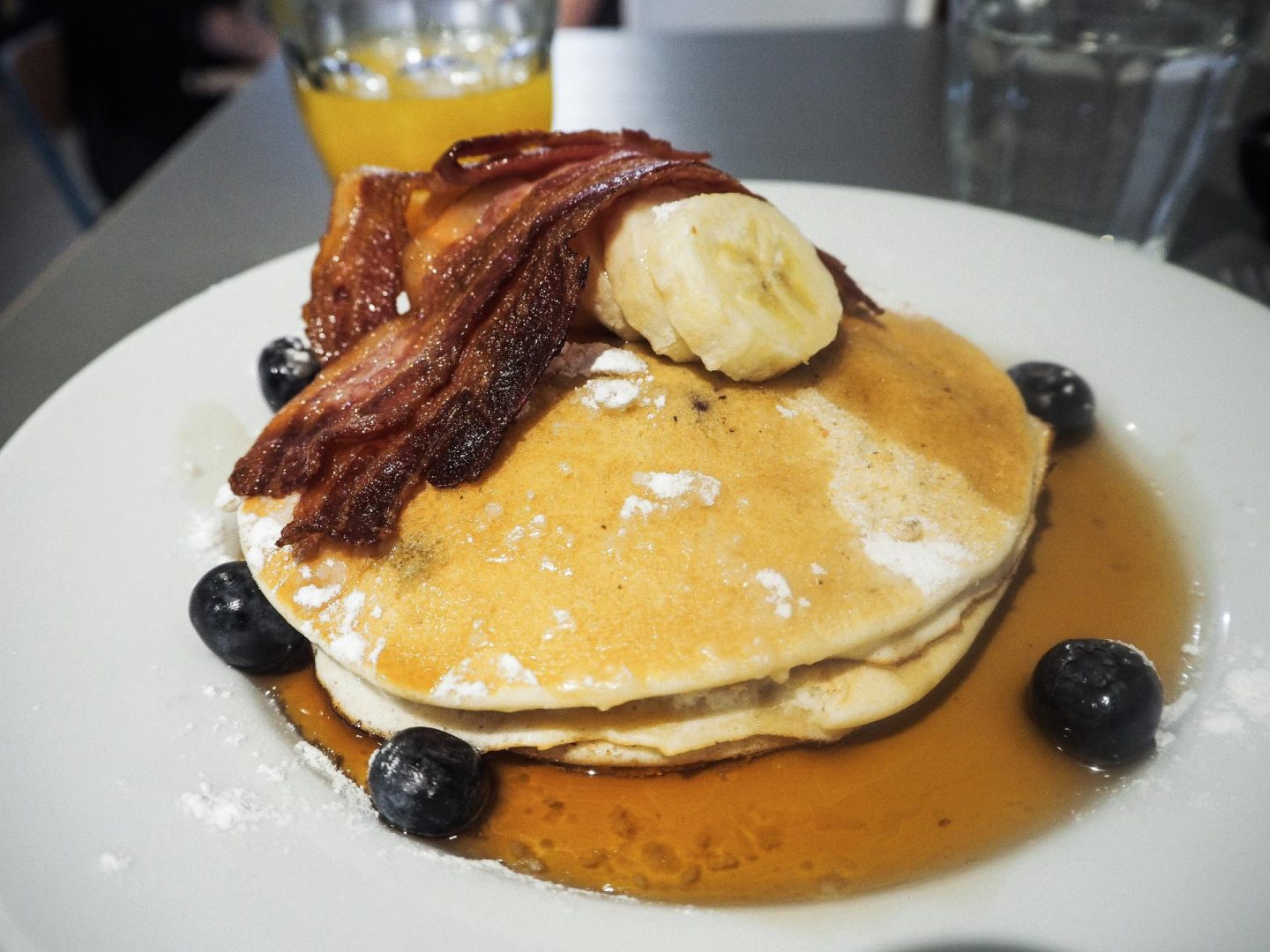 My Amsterdam Food Diary, Bakers and Roasters Pancakes - Rachel Nicole UK Blogger