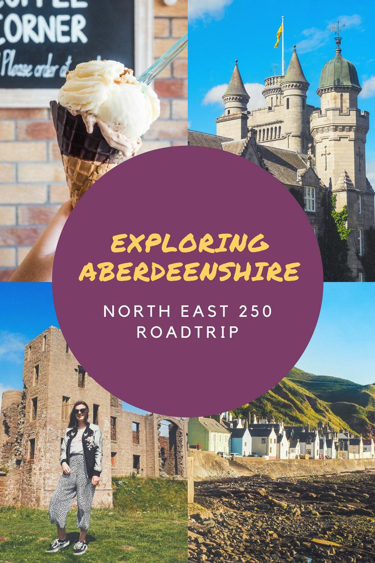 Exploring Aberdeenshire on the North East 250 Route - Rachel Nicole UK Travel Blogger