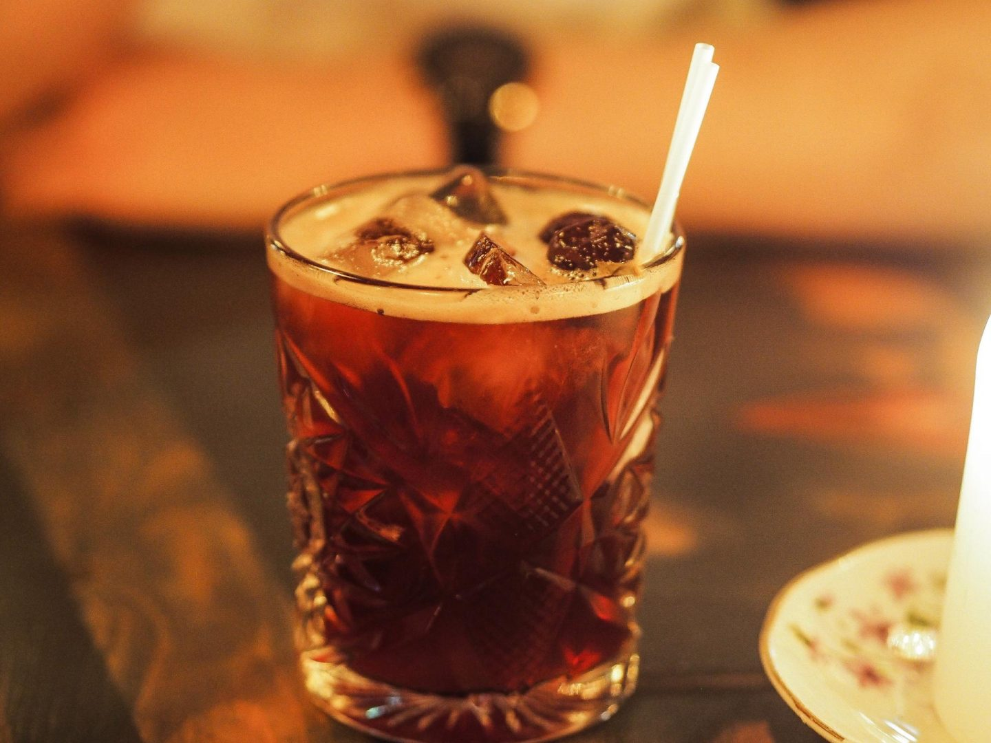Coconut Macron Mocktail at The Cosy Club, York Review - Rachel Nicole UK Blogger