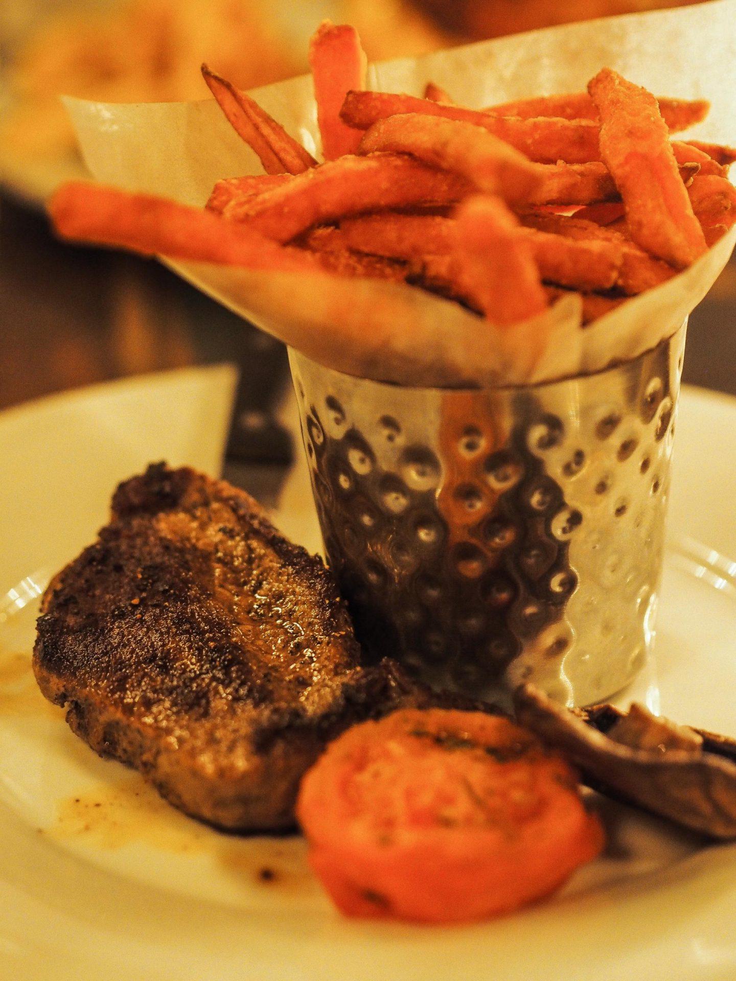 Rib-Eye Steak at The Cosy Club, York Review - Rachel Nicole UK Blogger