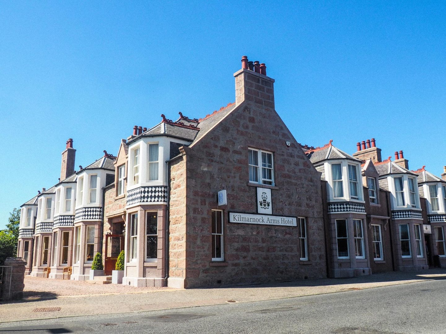 Exploring Aberdeenshire on the North East 250 Route, Kilmarnock Arms Hotel & Restaurant - Rachel Nicole UK Travel Blogger