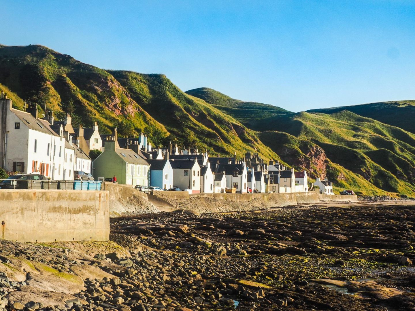 Exploring Aberdeenshire on the North East 250 Route, Gardenstown - Rachel Nicole UK Travel Blogger