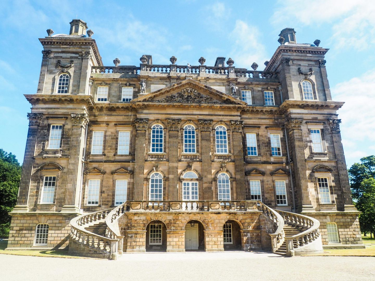 Exploring Aberdeenshire on the North East 250 Route, Duff House - Rachel Nicole UK Travel Blogger