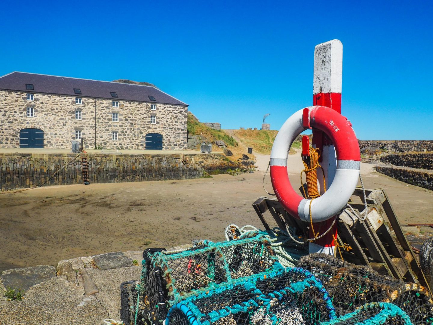 Exploring Aberdeenshire on the North East 250 Route, Portsoy Harbour - Rachel Nicole UK Travel Blogger