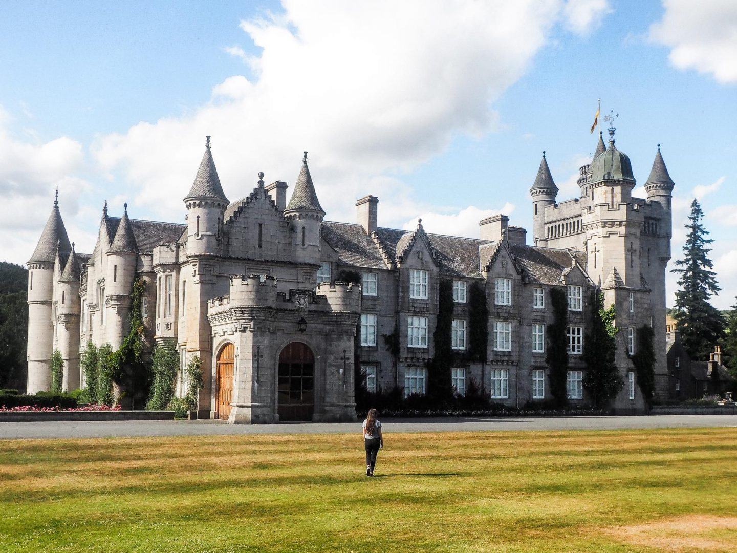 Exploring Aberdeenshire on the North East 250 Route, Balmoral Castle & Estate - Rachel Nicole UK Travel Blogger