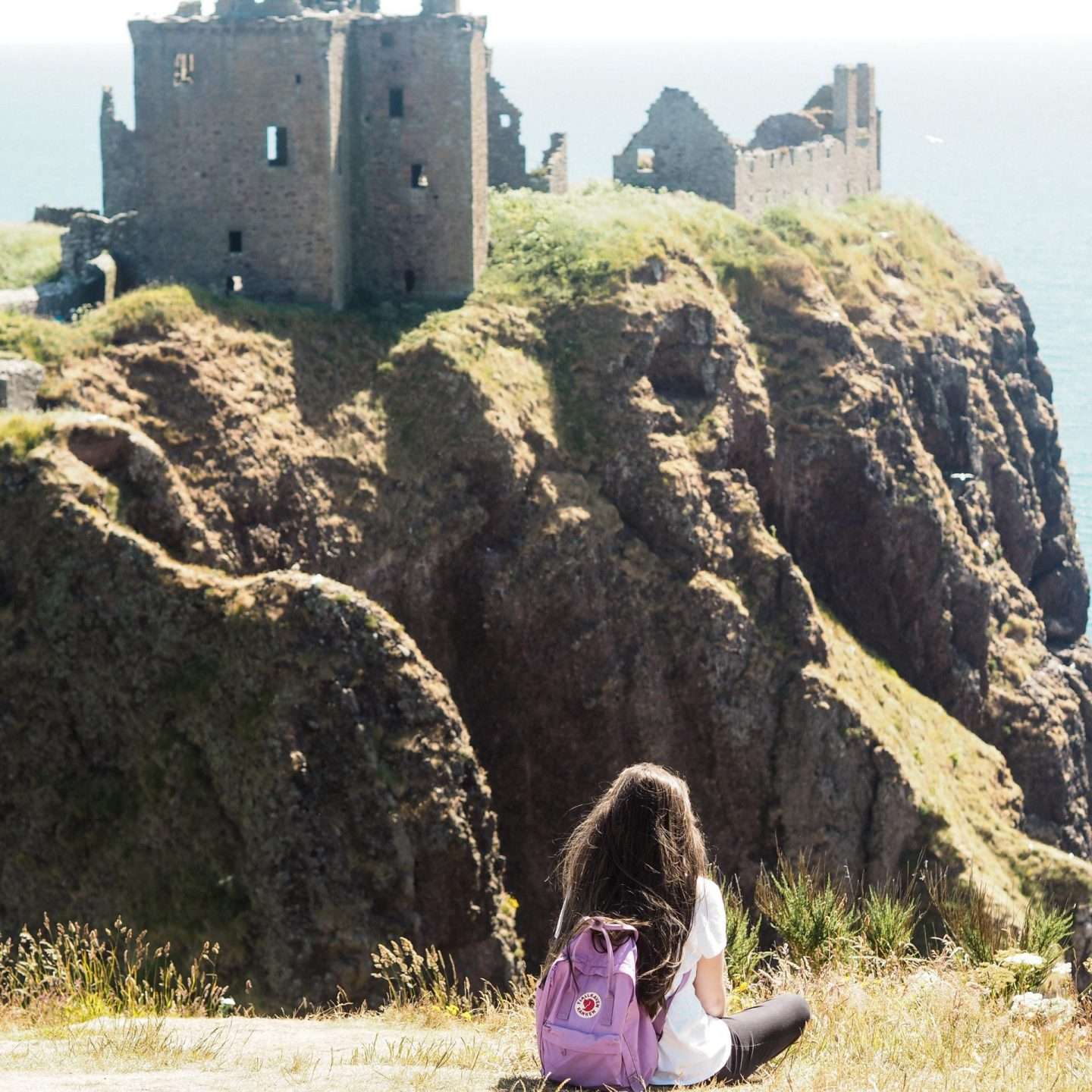 Exploring Aberdeenshire on the North East 250 Route, Dunnotter Castle - Rachel Nicole UK Travel Blogger