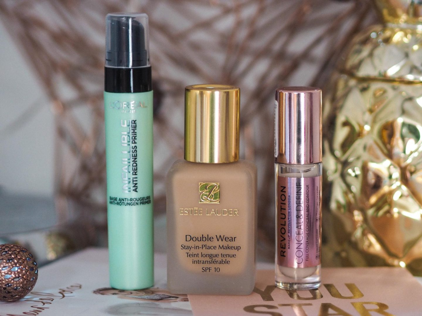 Three Face Products I'm Currently Loving at Notino.co.uk - Rachel Nicole UK Blogger