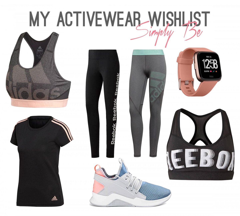 Activewear Wishlist, Simply Be - Rachel Nicole UK Blogger