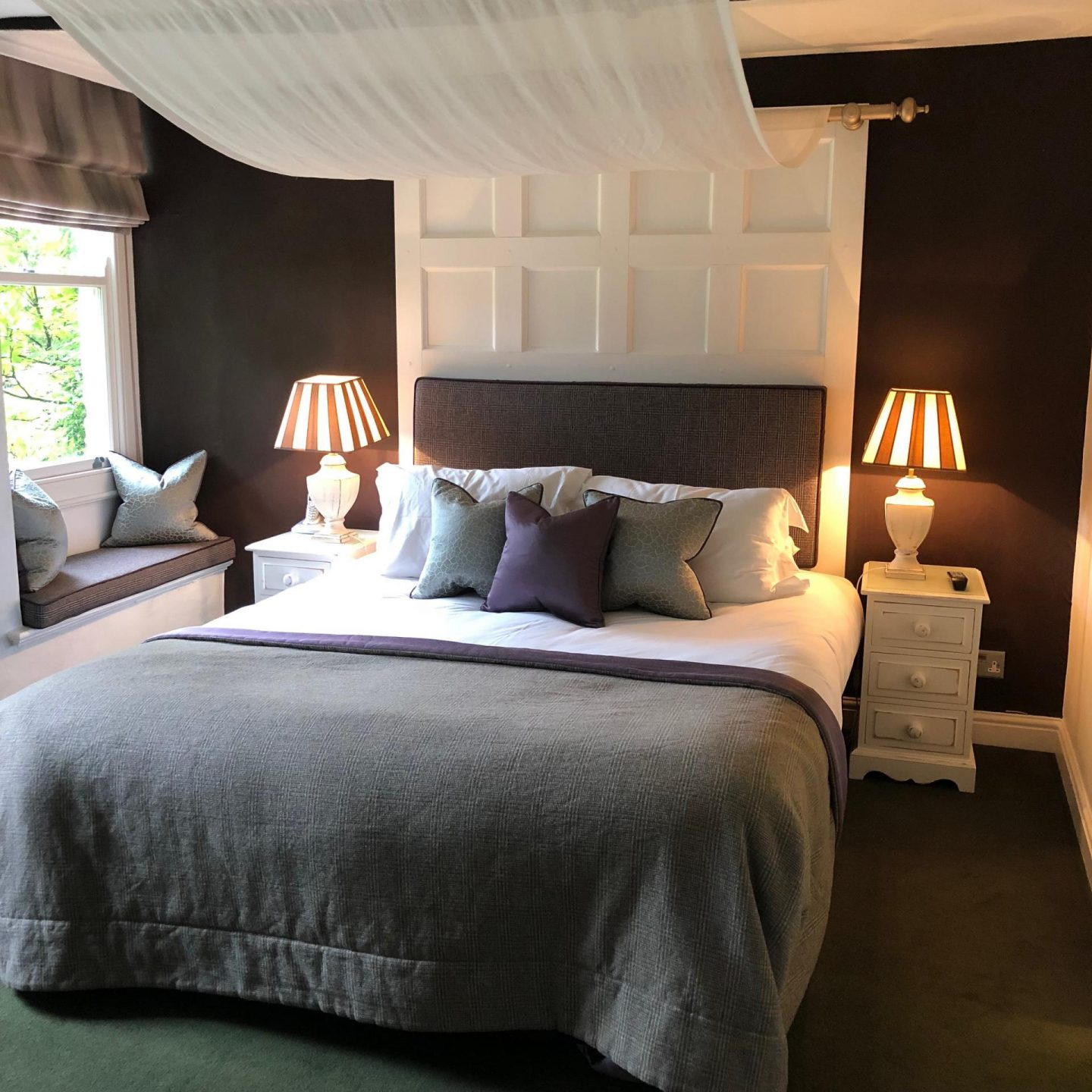 Hipping Hall, Grand Room Luxury Hotel Review - Rachel Nicole UK Travel Blogger