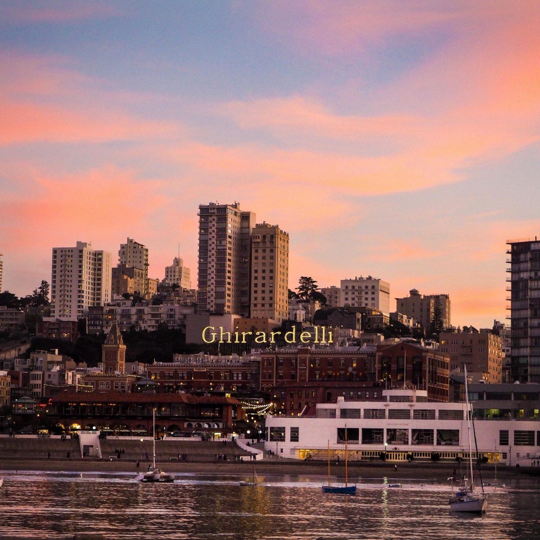 Sunset over San Francisco - Rachel Nicole UK Blogger