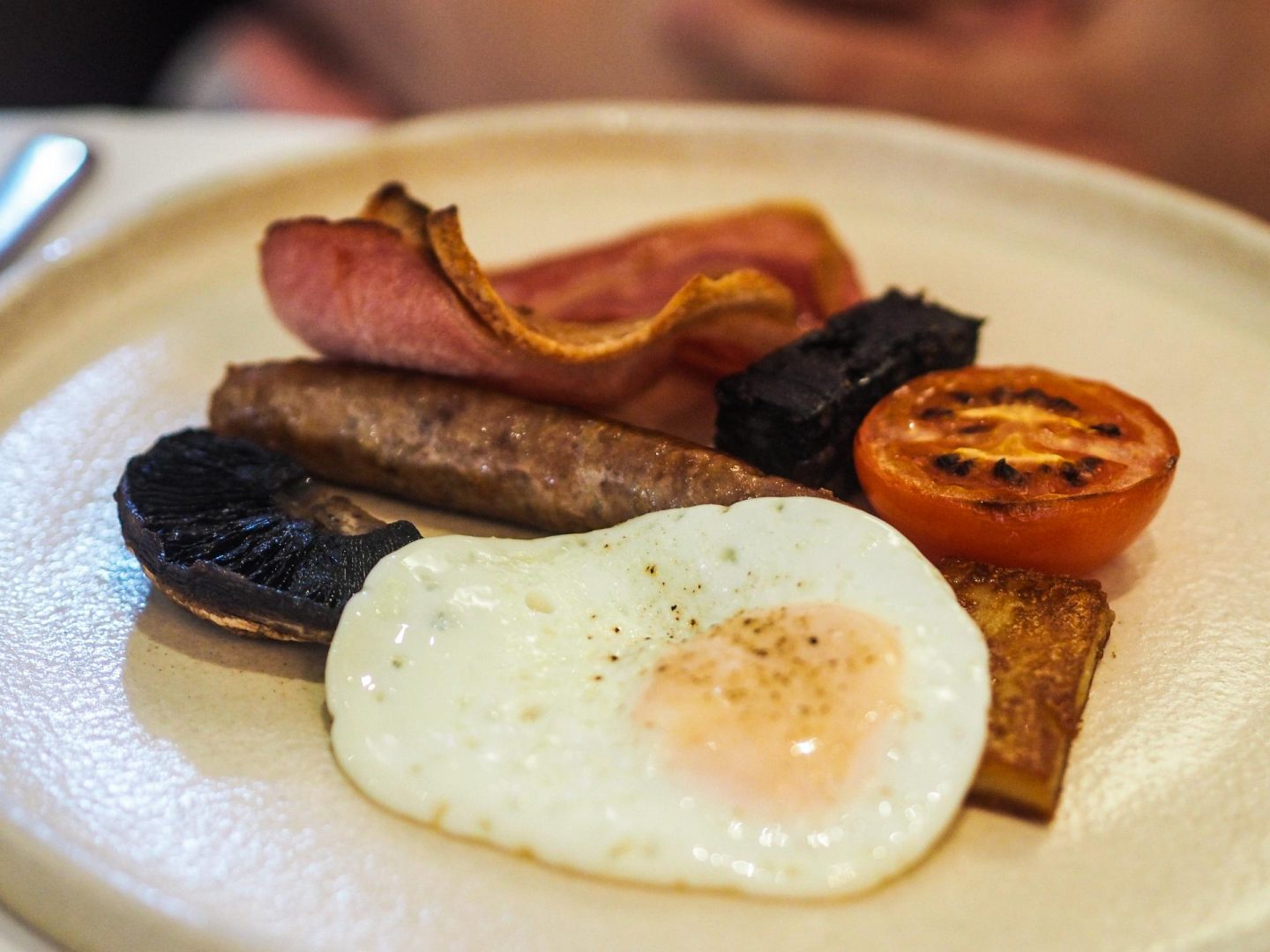 Full English Breakfast at Hipping Hall, Luxury Hotel Review - Rachel Nicole UK Travel Blogger