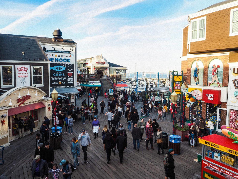 Fisherman's Wharf, San Francisco - Rachel Nicole UK Blogger