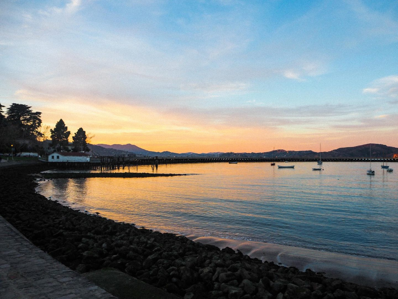 Sunset over The Golden Gate Bridge, San Francisco - Rachel Nicole UK Blogger
