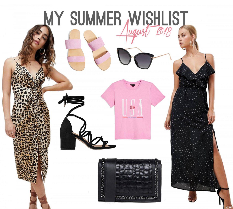 Summer Fashion Wishlist - Rachel Nicole UK Blogger