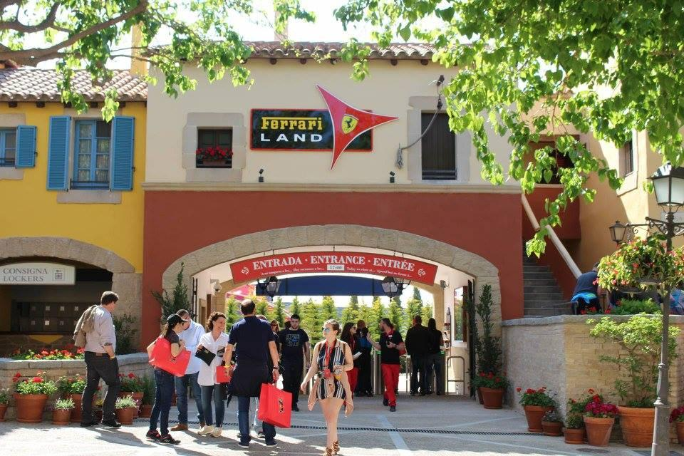 Six Theme Parks to visit in Spain on a Thrill Seeking Holiday, Ferrari Land - Rachel Nicole UK