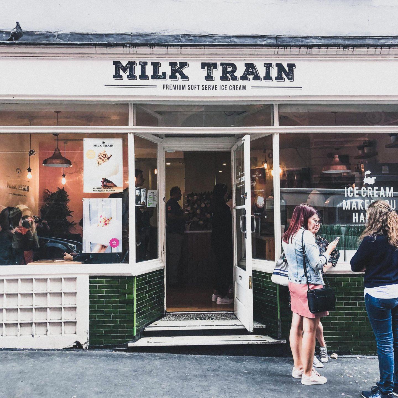 Exploring Covent Garden with Hotels.com, Milk Train Ice Cream - Rachel Nicole UK Blogger