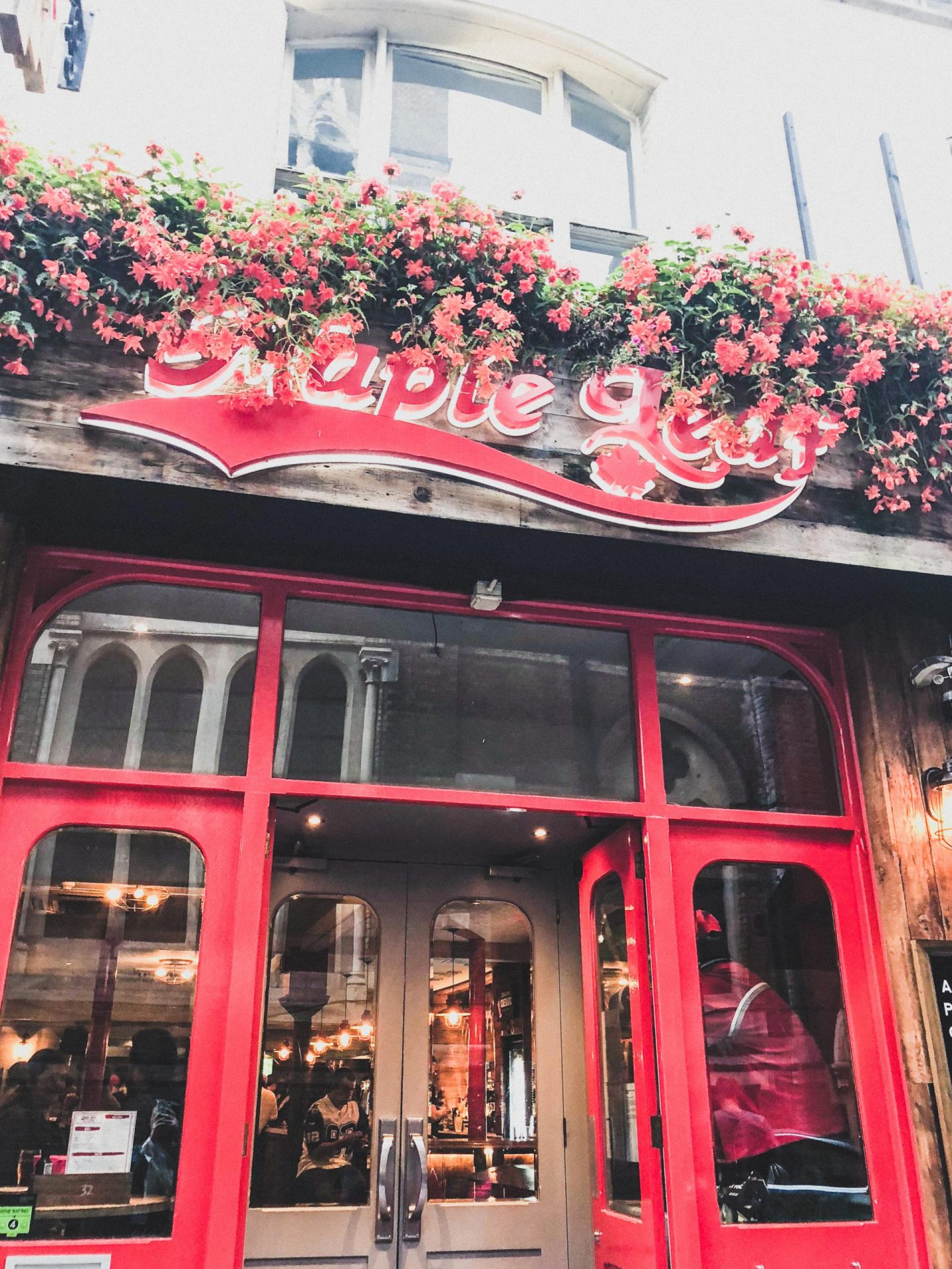 Exploring Covent Garden with Hotels.com, The Maple Leaf - Rachel Nicole UK Blogger
