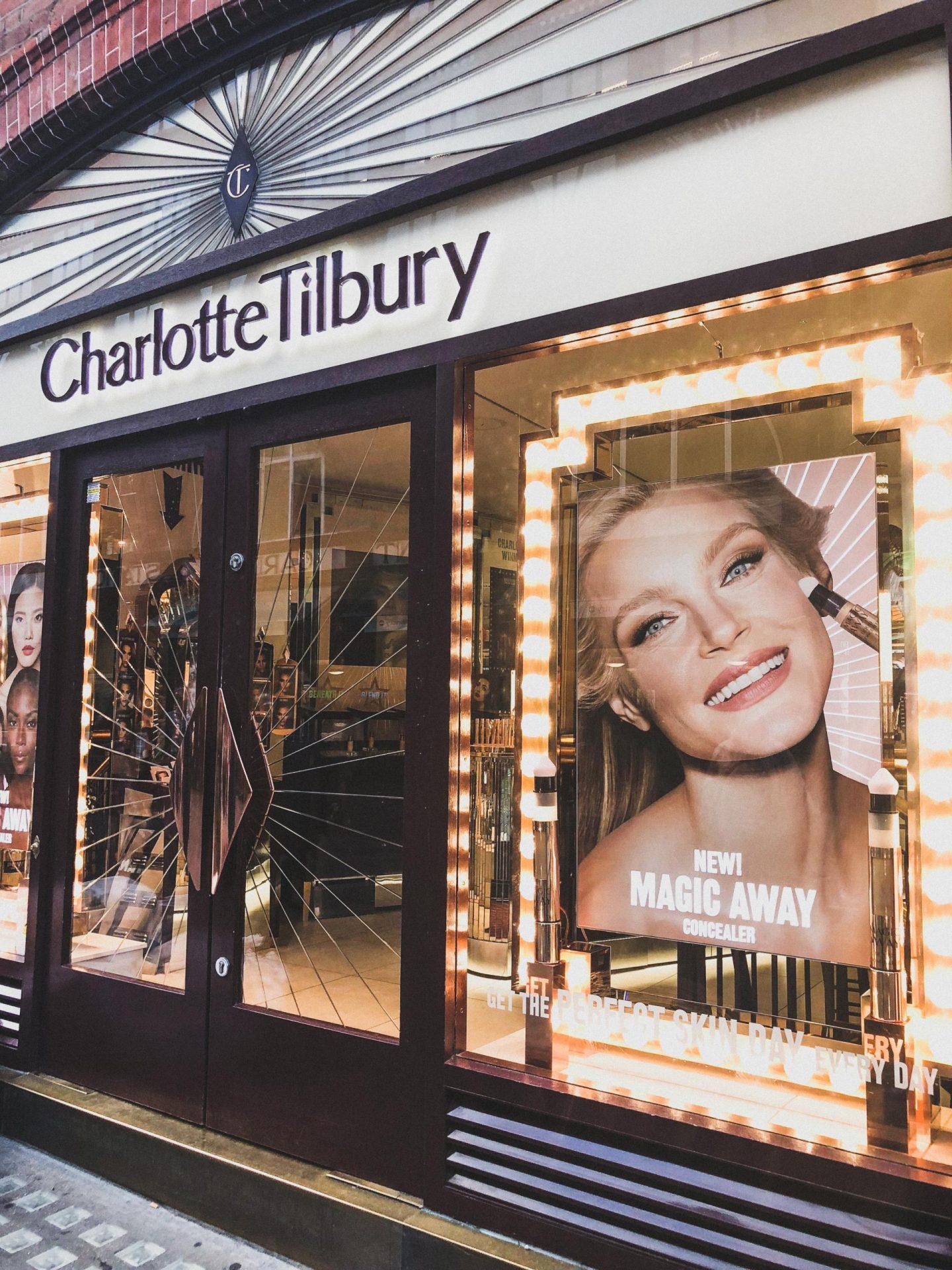 Exploring Covent Garden with Hotels.com, Charlotte Tilbury - Rachel Nicole UK Blogger