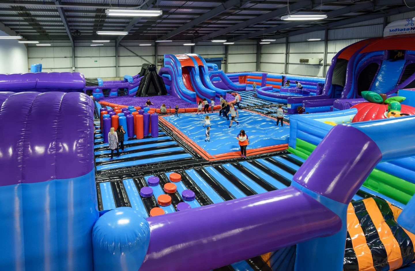 Unique Ideas for Date Night in Manchester, InflataNation- Rachel Nicole UK Blogger