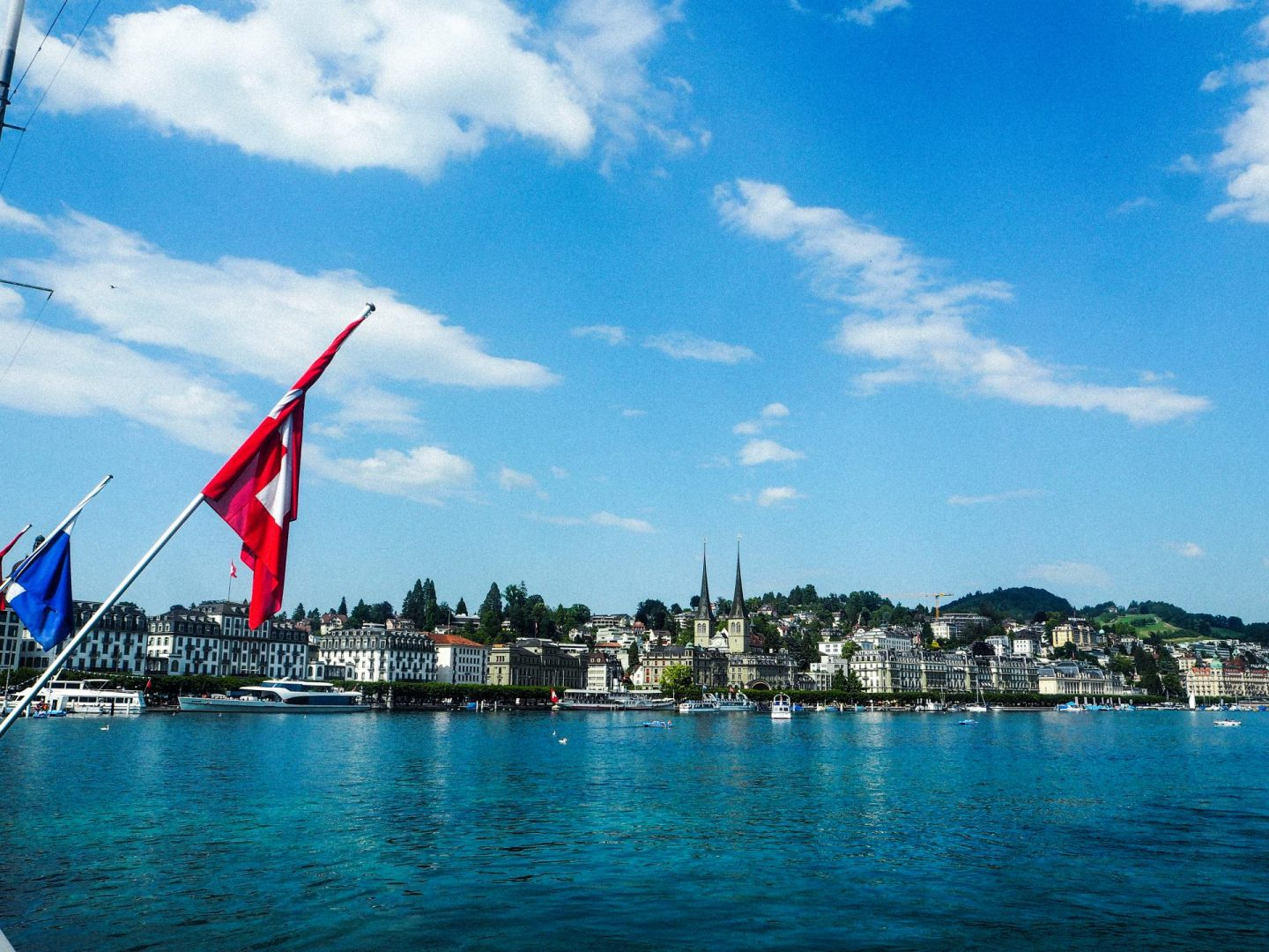 How to spend the day in Lucerne, Switzerland On a Budget - Lake Lucerne - Rachel Nicole UK Blogger