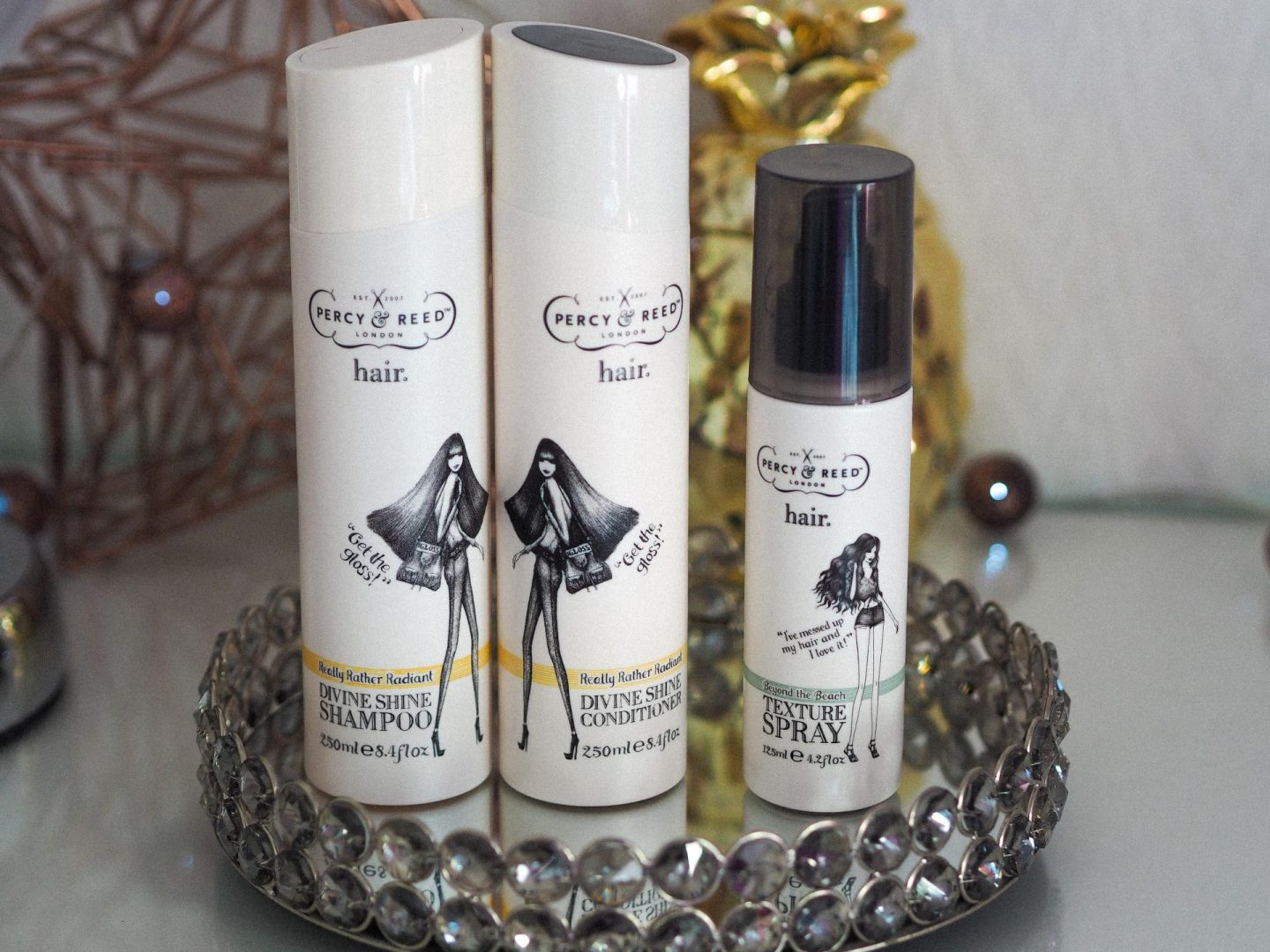 My Haircare Routine Whilst Travelling with Percy & Reed Shampoo and Conditioner - Rachel Nicole UK Blogger