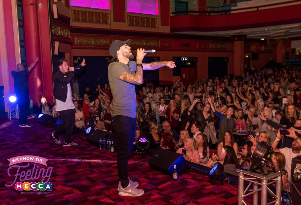 90s Rewind With 5ive Live at Mecca Bingo - Rachel Nicole UK Blogger
