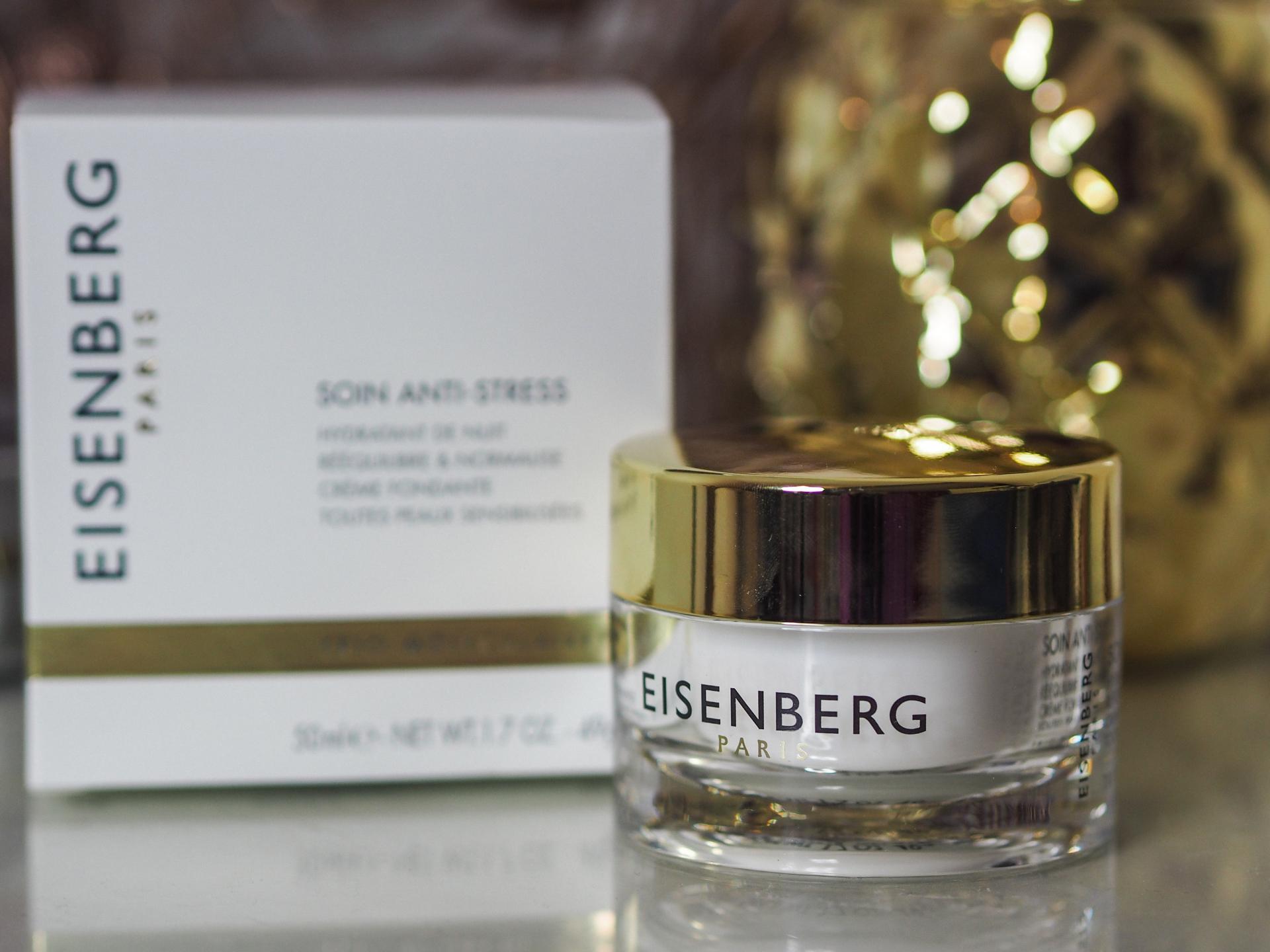 Eisenberg Anti-Stress Treatment & Night Cream Review - Rachel Nicole UK Blogger