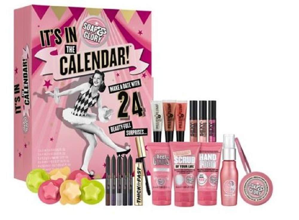 My Top 12 Beauty Advent Calendars 2018 Soap & Glory - Rachel Nicole UK Blogger
