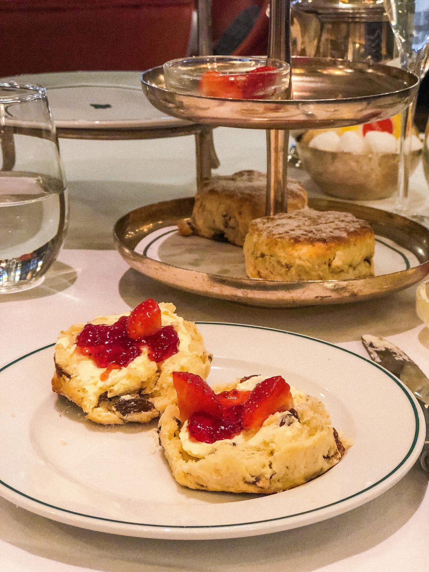 The Champagne Afternoon Tea at The Ivy, York - Rachel Nicole UK Blogger