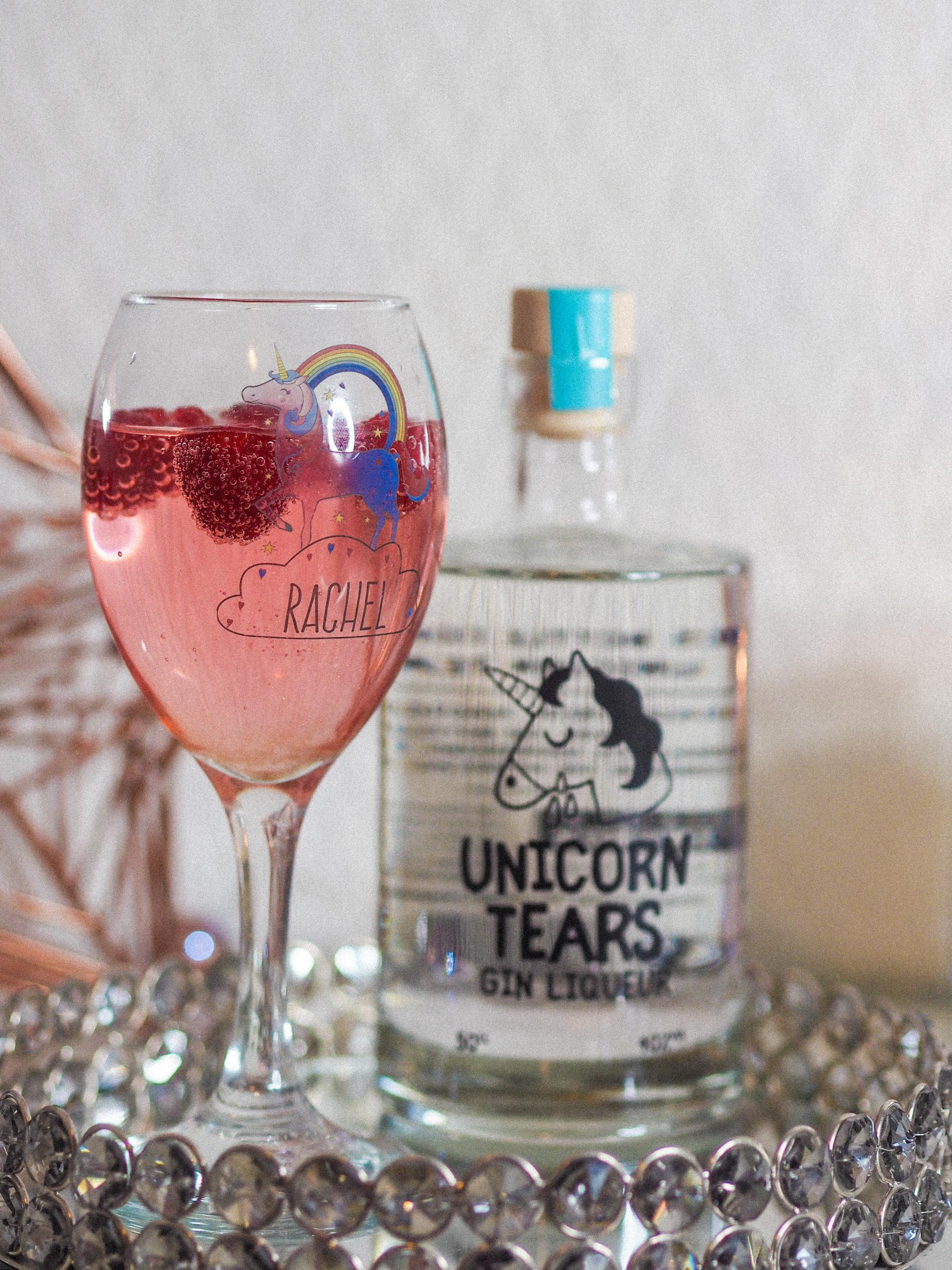 A Cosy Night In with Unicorn Tears Gin & Studio.co.uk - Rachel Nicole UK Blogger