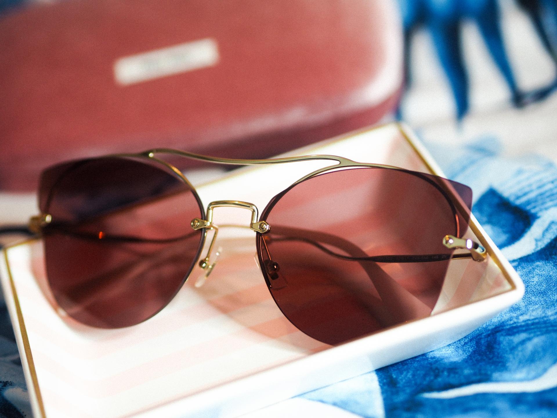 Miu Miu MU52SS Sunglasses from SmartBuyGlasses - Rachel Nicole UK Blogger